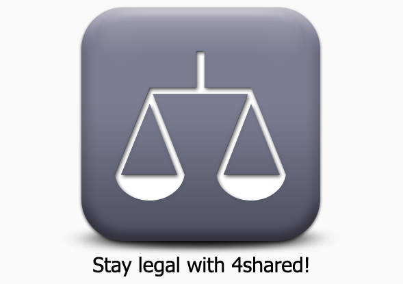 legal Learn 5 ways how 4shared keeps you safe!