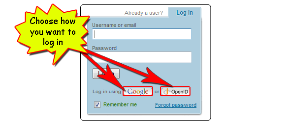 log in2 Register on 4shared with your Google/OpenID account!