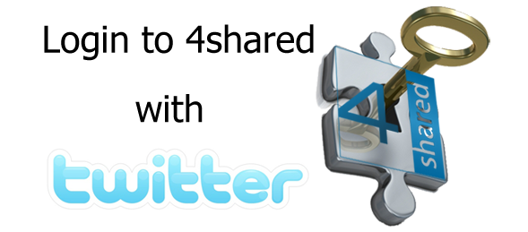tw 4 Log in to 4shared with Twitter now!