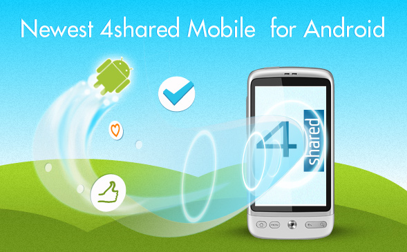new features1 Advanced 4shared Mobile for Android v.1.0.15 is Out!