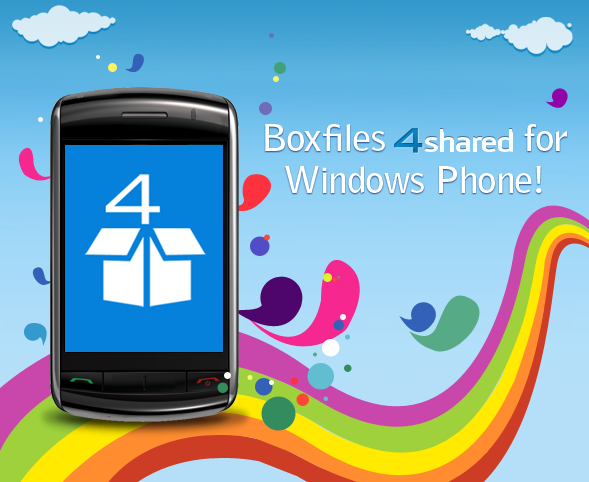 blog 07 05 03 Meet The Brand New App – BoxFiles 4Shared for Windows Phone 7!