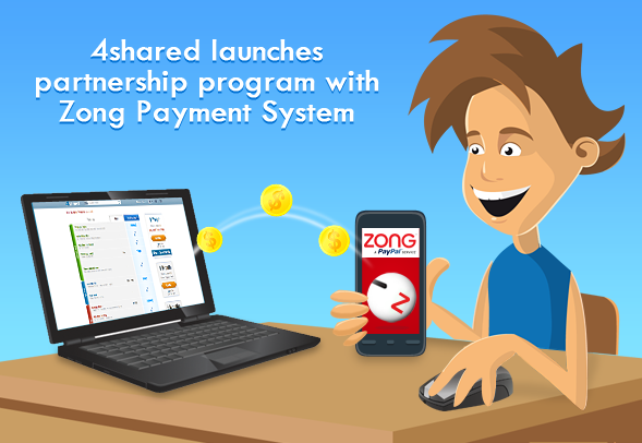 blog 15 05 02 4shared Launches Partnership Program with Zong Payment System