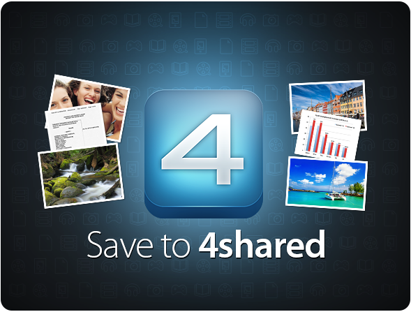 4sh save24shared 2 Install our brand new SAVE TO 4SHARED extension for Google Chrome