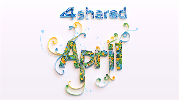 April 589 02 4shared April Calendar 2013