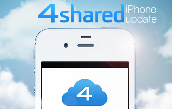 4sh ios iphone Update BLOG 4shared for iPhone Updated