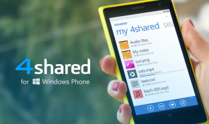 4sh ios blogPicture 4shared for Windows Phone MINIMIZED DEV 7511 300x178 Get Ready to Meet 4shared for Windows Phone!