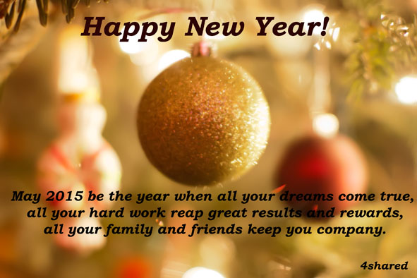 31 Happy New Year 2015!