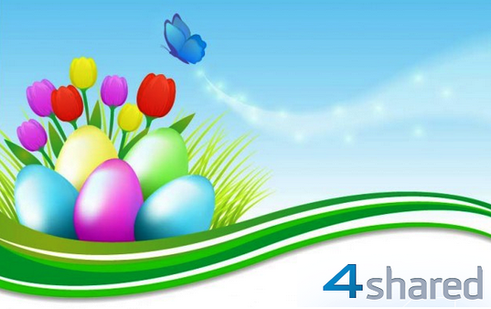Happy Easter from  4shared