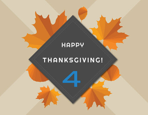 Happy Thanksgiving from 4shared!