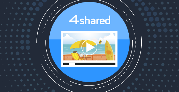 new online video player at 4shared
