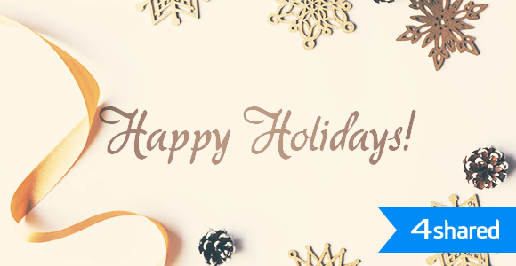 Happy Winter Holidays from 4shared!
