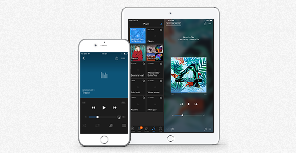 Manage Music Playback in 4shared for iOS